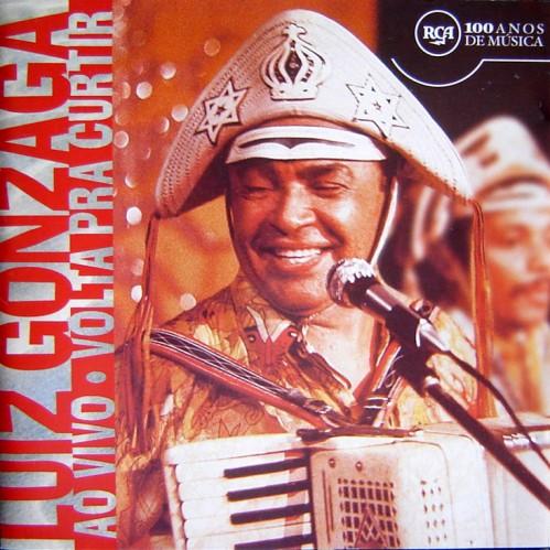 Cd Luiz Gonzaga - Volta Pra Curtir (Ao Vivo)