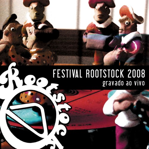 Capa do CD Festival Rootstock 2008