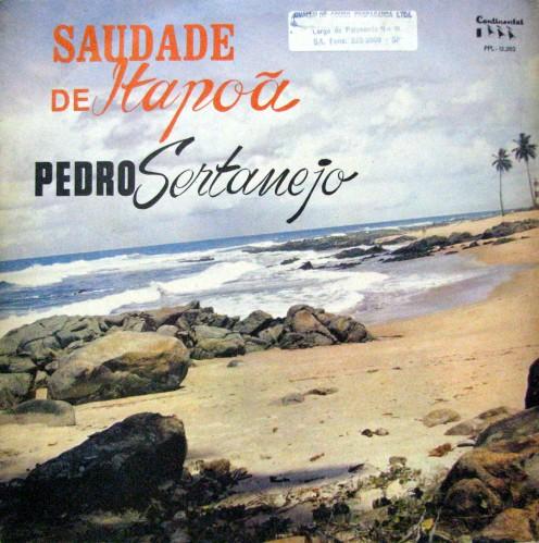 1966-pedro-sertanejo-saudade-de-itapoa-capa