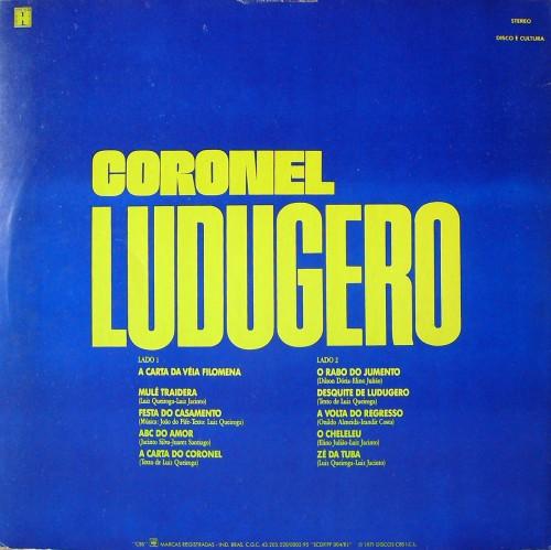 coronel-ludugero-1971-muita-saudade-verso