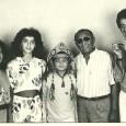 Lusinete, Patrícia(afilhada de Gonzagão), Ziraldo, Luiz Gonzaga e Rildo Hora – 1988 *Foto enviada pelo Thiaguinho dos Santos