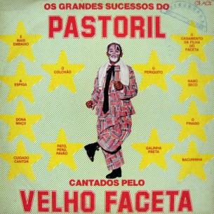 1981 - Velho Faceta - Os grandes sucessos do pastoril - capa