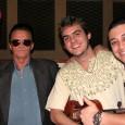 O Trio Alvorada, que está em estúdio gravando seu segundo disco, recebeu a ilustre visita de Jota Lima, compositor de uma das faixas do álbum.