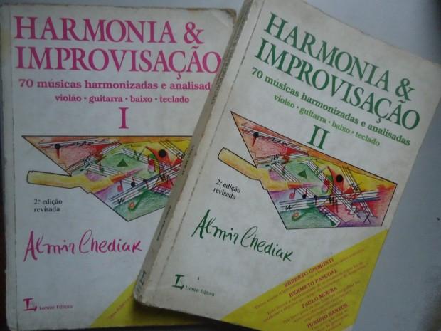 livro-harmonia-e-improvisaco-vol 1 e 2 -almir chediak