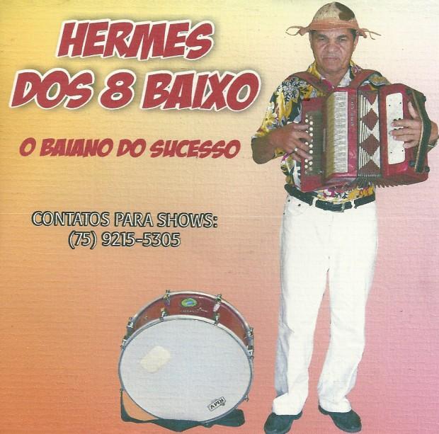 Hermes dos 8 Baixos Vol. 03 - frente