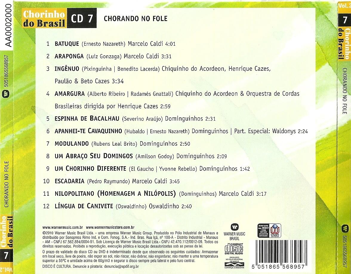 cd chorinhos de ouro vol 1