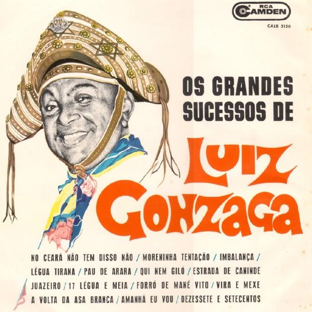 OS GRANDES SUCESSOS DE LUIZ GONZAGA - Capa