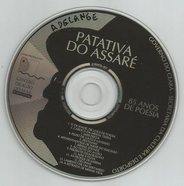 etiqueta do cd
