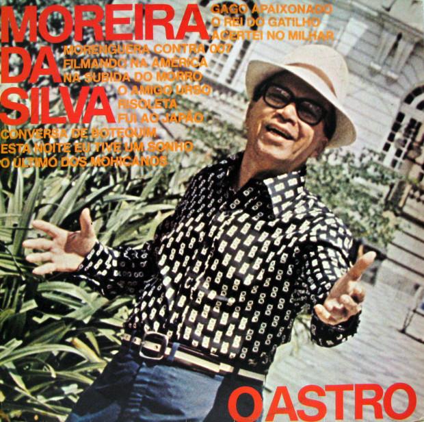 Moreira da Silva - O astro - capa