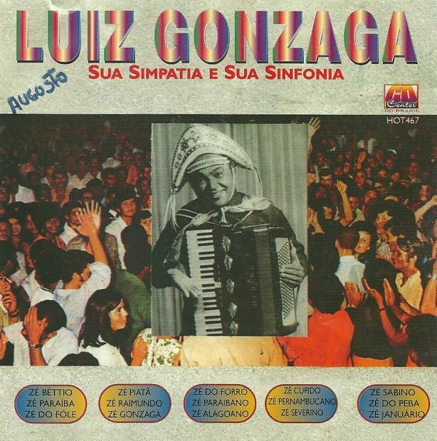 Luiz Gonzaga sua Sanfona e sua Simpatia - frente