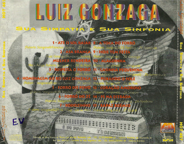Luiz Gonzaga sua Sanfona e sua Simpatia - verso