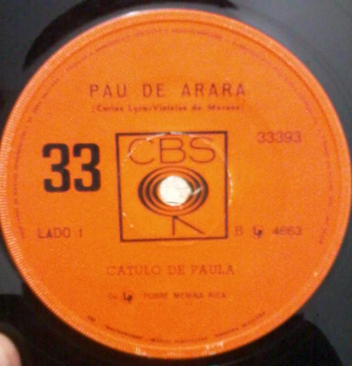 Catulo De Paula Thelma Pau de Arara Maria Moita