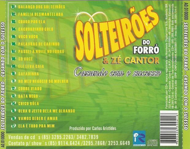 Solteiroes - Verso