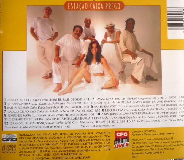 PARTE TRASEIRA DO CD REPERTÓRIO