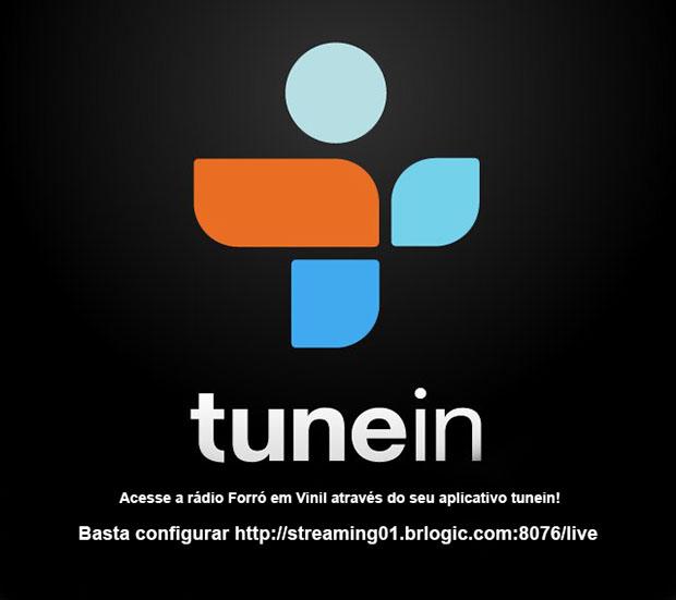 Tunein + Rádio Forró em Vinil