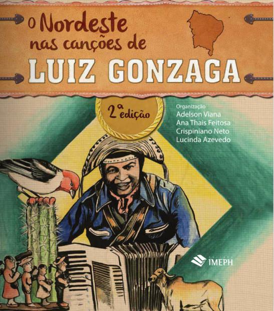 livro - O nordeste nas canções de Luiz Gonzaga