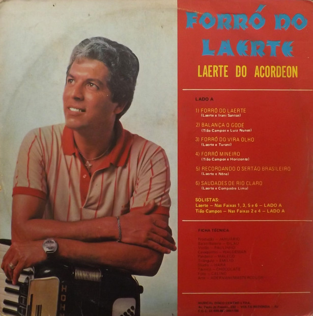 capa Laerte do Acordeon
