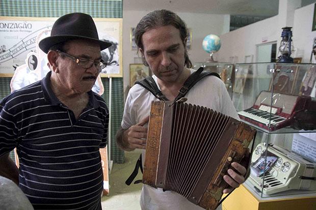 Leo Rugero e Ze Calixto p