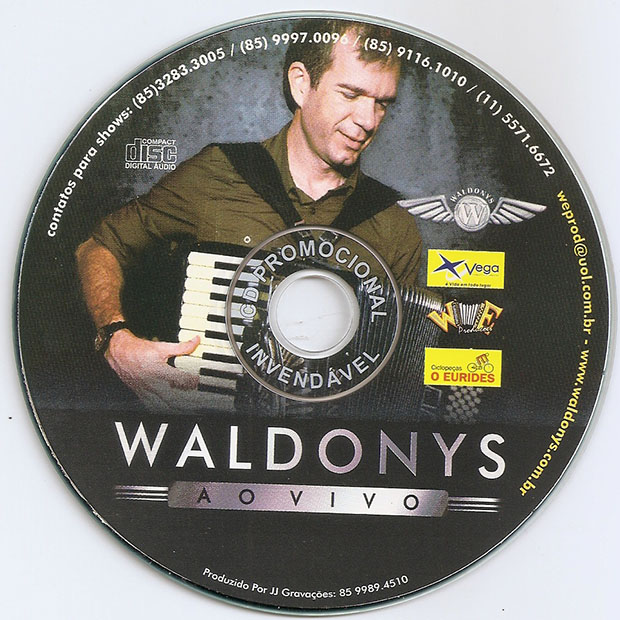 cd de waldonys ao vivo