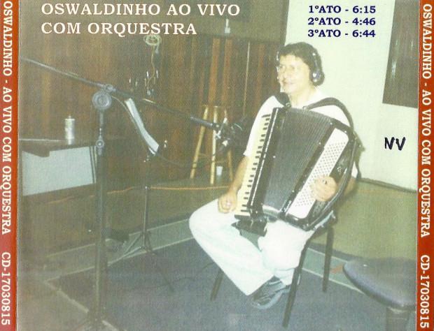 Ao vivo com Orquestra - verso cd