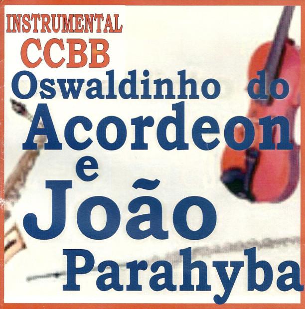 Oswaldinho & João Paraíba - frente cd