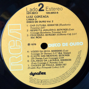 Disco de Ouro vol. 2 - selo 2
