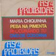 """Colaboração do João Gabriel, de Niterói – RJ. Esse é o compacto promocional que precedeu o genial LP """"As 12 proibidas"""" Nesse compacto duplo, as interpretações de Lindú, Edson Duarte, […]"""