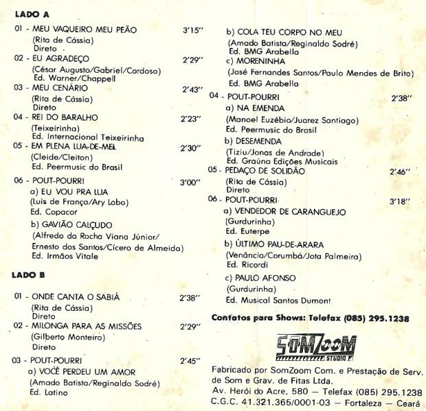 Volume 02 - faixas