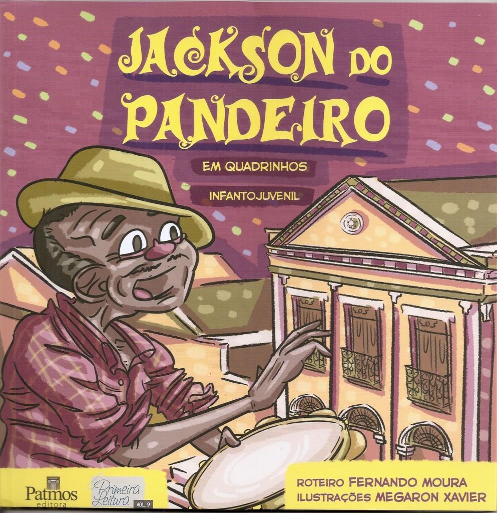 Jackson do Pandeiro em quadrinhos - Fernando Moura - capa