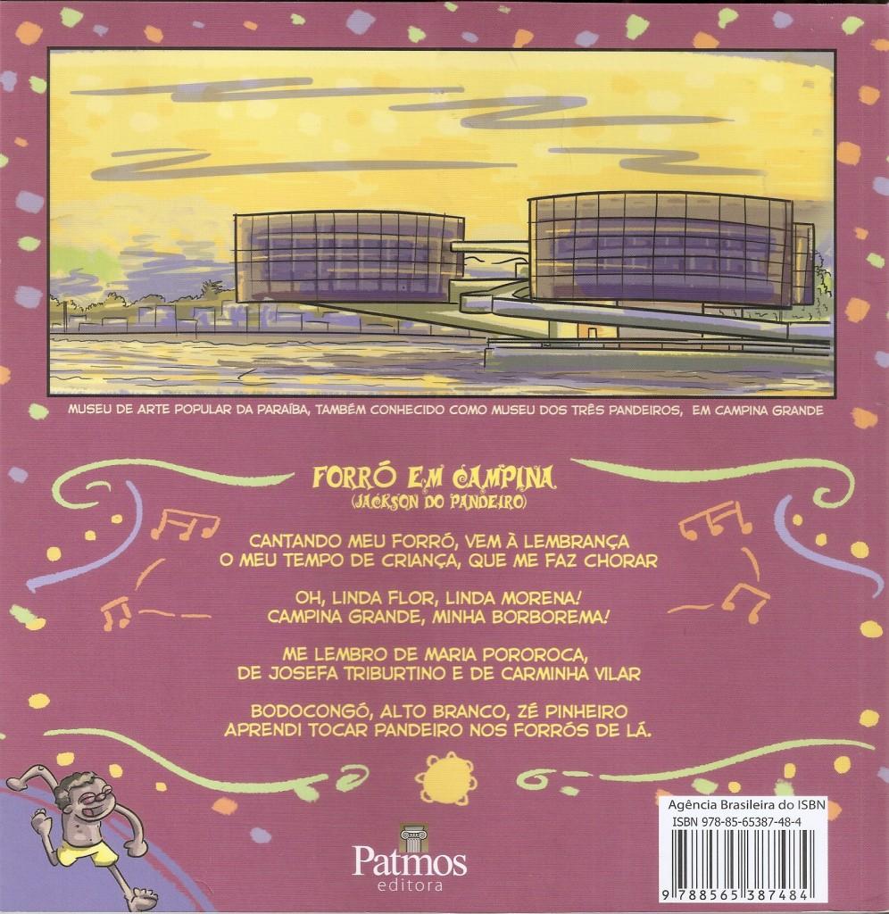 Jackson do Pandeiro em quadrinhos - Fernando Moura - verso