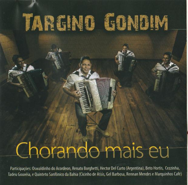 Targino Gondim - Chorando mais eu - Capa