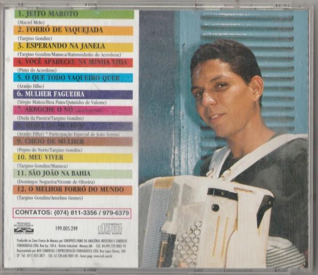Targino Gondim - Esperando na Janela - Contra capa