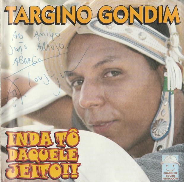 Targino Gondim - Inda tô daquele jeito - capa