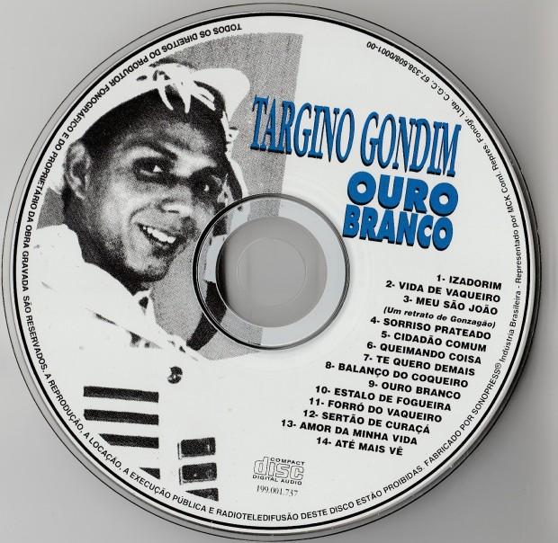 Targino Gondim - Ouro Branco - CD