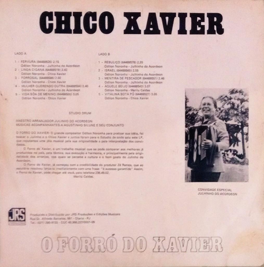 Chico Xavier Verso