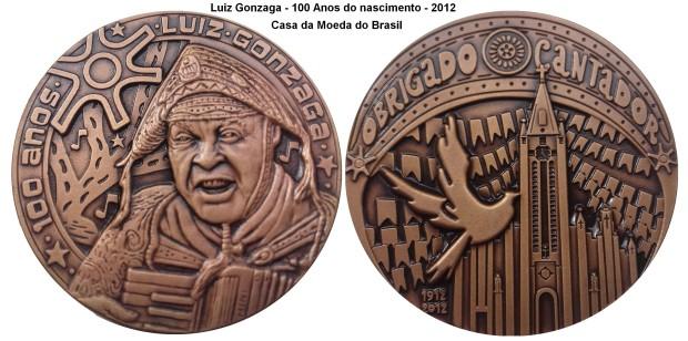 Medalha Gonzaga Centenario