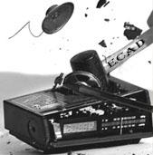 radio quebrado