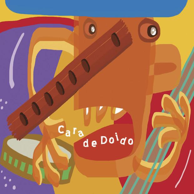 Cara de Doido - EP (2015) - Capa