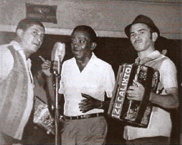 Genival Lacerda, Jackson do Pandeiro e Zé Calixto