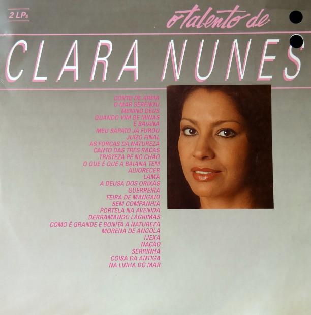 O talento de Clara Nunes - frente