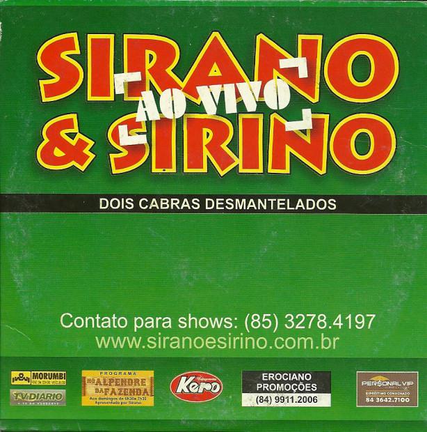 Sirano - capa
