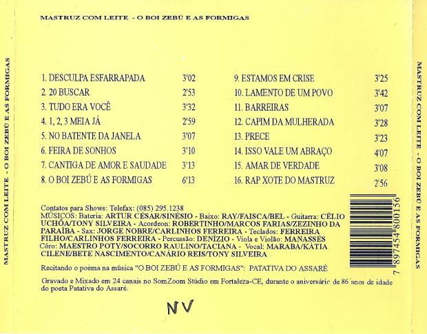 Volume 06 - verso cd