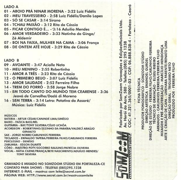 Volume 10 - faixas